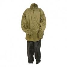 anuy regenpak groen en zwart broek newark xxl