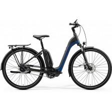 Merida Espresso City 700 Matt Ocean Blue / Black 5 versnellingen met Schijfrem met hydraulischebediening