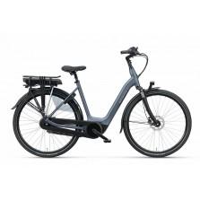Batavus Finez E-go Active Plus 7 versnellingen met Hydraulische schijfremmen en Finez E-go Active Plus Xn7 Jeans-mat 53 No Batt