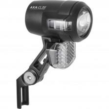 Axa koplamp Compactline E-bike 6-12v 35 lux zwart