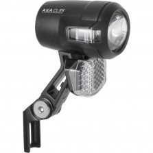 Axa koplamp Compactline steady auto dynamo 35 lux zwart