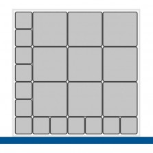 Bott Cubio bakassortiment 65x65 lade