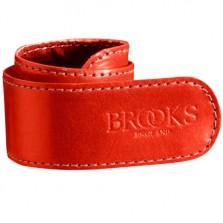 Brooks broekklem leer rd