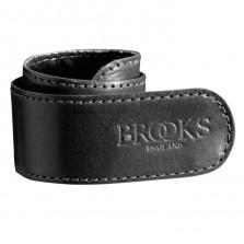 Brooks broekklem leer zw