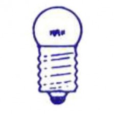 ds lampje 6V 005 E10 0.6W