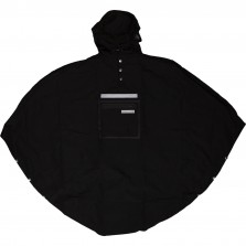 Peoples Poncho black volw