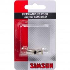 Simson lampje voorlicht 6 volt / 2,4 watt (2)