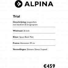 Alpina prijskaarten 2020