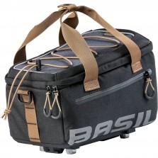 Basil dragertas Miles trunkbag MIK grijs/zwart
