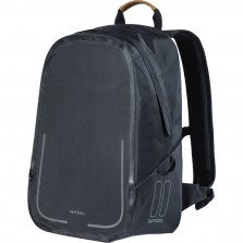 Basil backpack Urban dry matt black