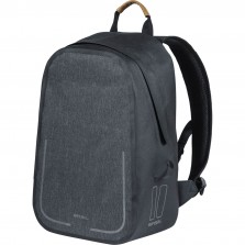Basil backpack Urban dry charcoal melee