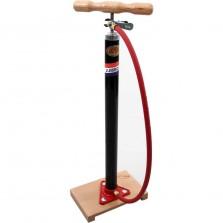 Jumbo fietspomp m/plank en slang