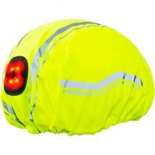 Wowow helmet cover Corsa yellow met led
